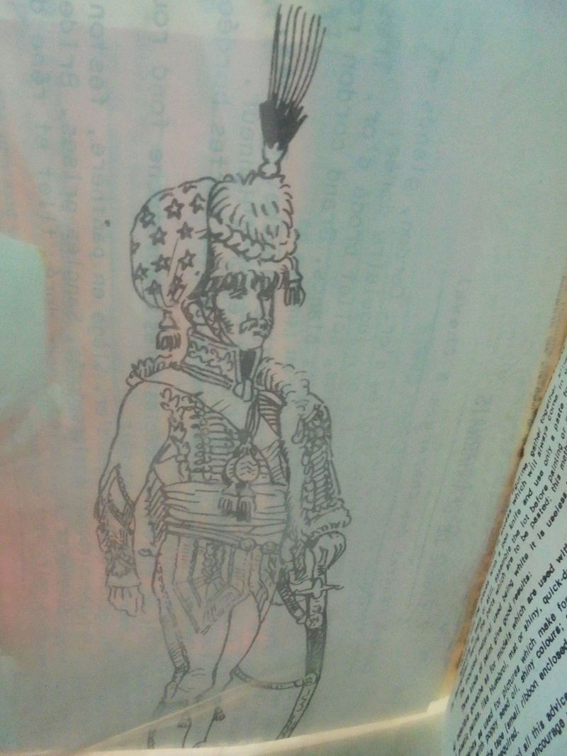 Kit montaggio soldatini historex anni 70 n.807A-807B Dsc05530