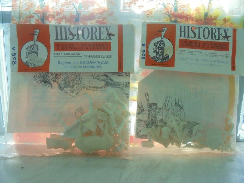 Kit montaggio soldatini historex anni 70 n.806 Dsc05532