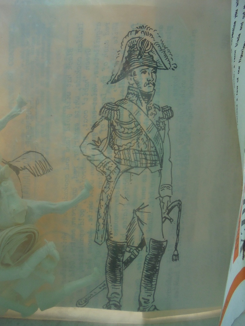 Kit montaggio soldatini historex anni 70 n.806 Dsc05536