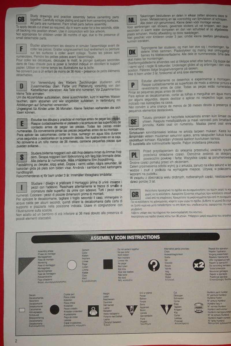 [AIRFIX] Camion A.E.C. MATADOR & CANON DE 5,5 pouces 1/76ème Réf 01314 Notice Airfi141