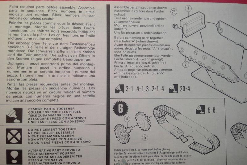 [MATCHBOX] Char A 34 Mk 1 COMET 1/76ème Réf PK  72 Notice Match102