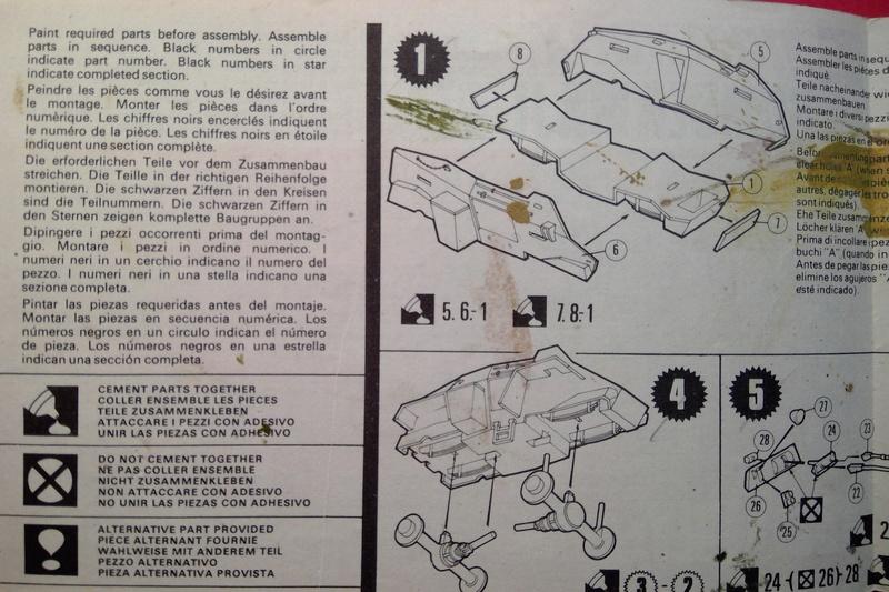 [MATCHBOX] Automitrailleuse blindée HUMBER Mk II 1/76ème Réf PK 75  Notice Match116
