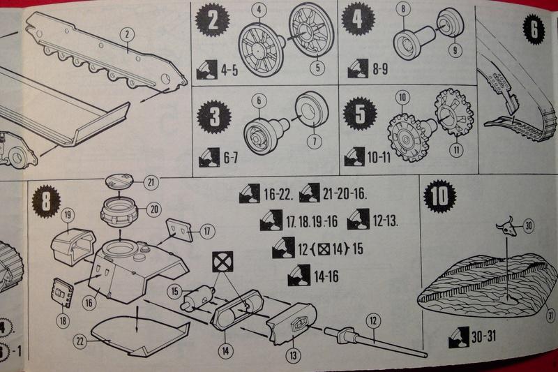 [MATCHBOX] Char PANZER III Ausf L 1/76ème PK 74 Notice Match143