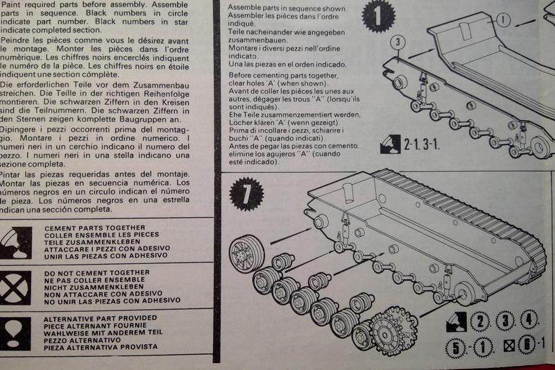 [MATCHBOX] Char PANZER III Ausf L 1/76ème PK 74 Notice Match144