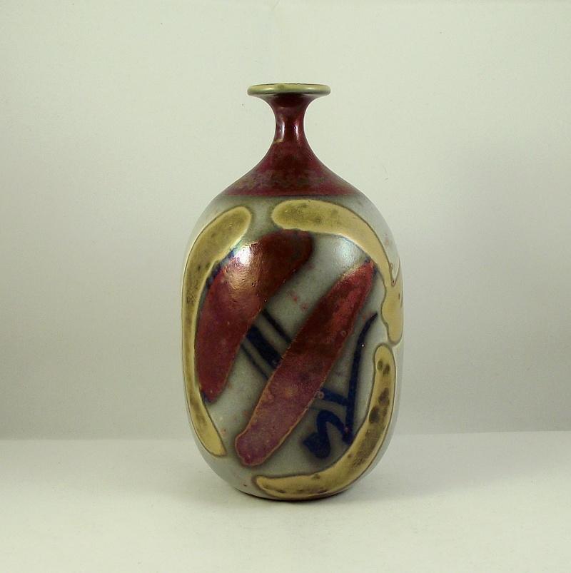 Studio Pottery Vase, Snail mark - Joan Carrillo, Spain  Dscf9410