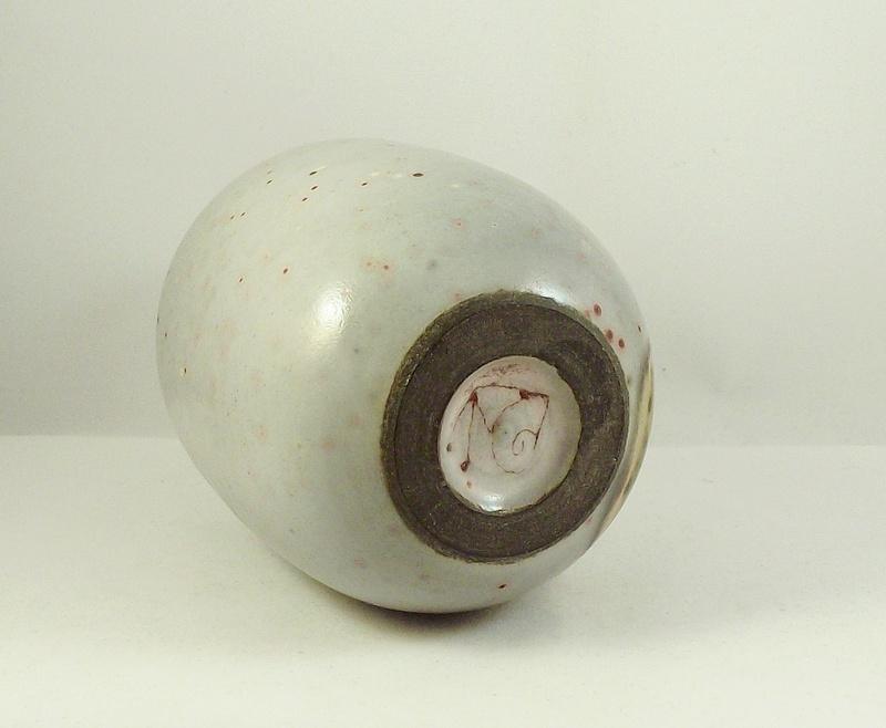 Studio Pottery Vase, Snail mark - Joan Carrillo, Spain  Dscf9510