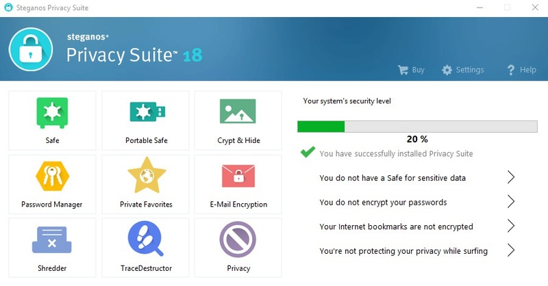 Steganos Privacy Suite 18 (Review) 130