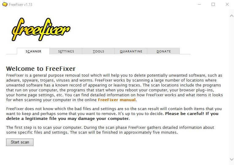 FreeFixer 1.19 132