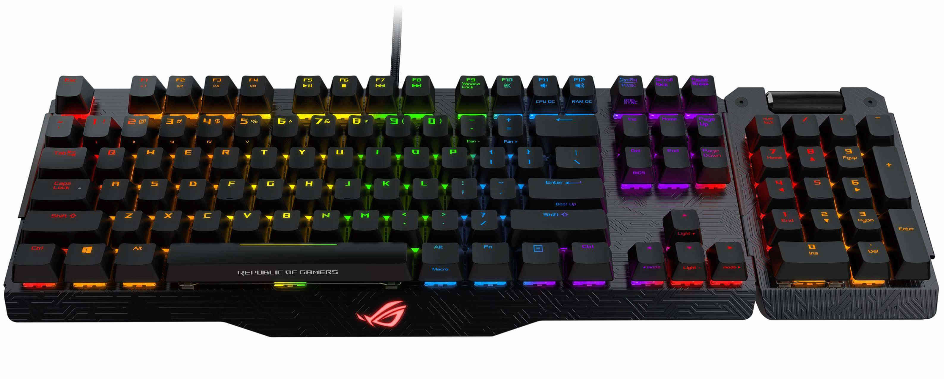 [Update] ASUS ROG Claymore Mechanical Gaming Keyboard 52b10