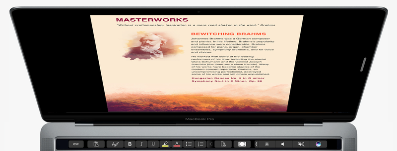 Η Microsoft φέρνει το Office στο νέο Touch Bar της Apple στους νέους MacBook Pro Micros10