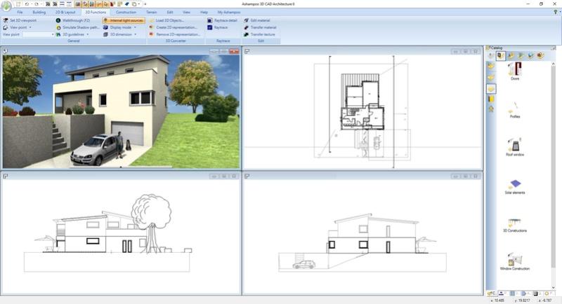 Ashampoo 3D CAD Architecture 6 & Ashampoo 3D CAD Professional 6 (Review) Scr_as13