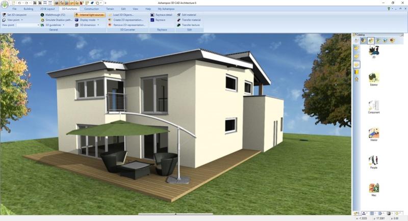 Ashampoo 3D CAD Architecture 6 & Ashampoo 3D CAD Professional 6 (Review) Scr_as14