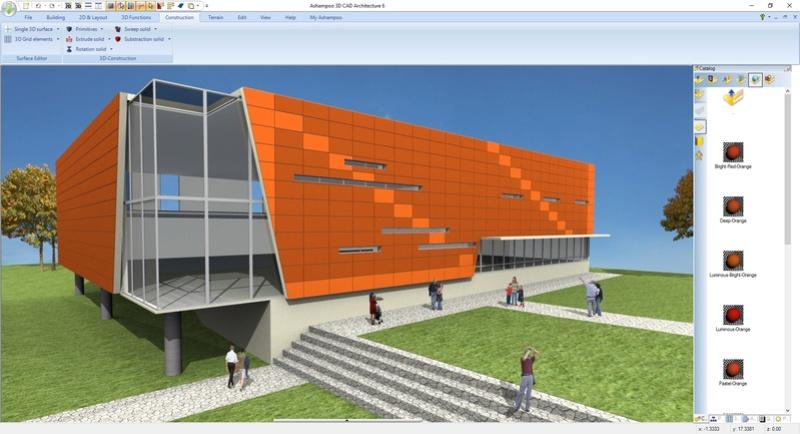 Ashampoo 3D CAD Architecture 6 & Ashampoo 3D CAD Professional 6 (Review) Scr_as15