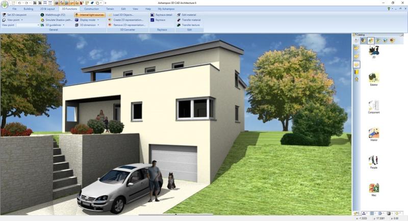 Ashampoo 3D CAD Architecture 6 & Ashampoo 3D CAD Professional 6 (Review) Scr_as16
