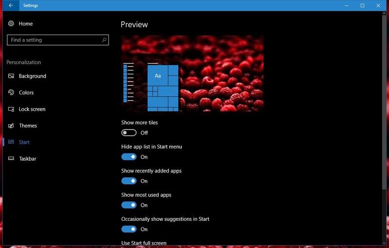 Windows 10 Redstone 2: To νέο μενού Έναρξης μοιάζει με το αυτό στα Windows 7  Window11
