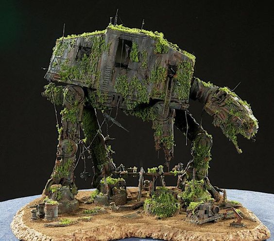 STAR WARS : Epave AT-AT sur Endor 79754d10