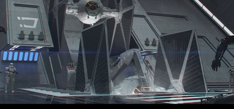 accés au cockpit du TIE Captur10