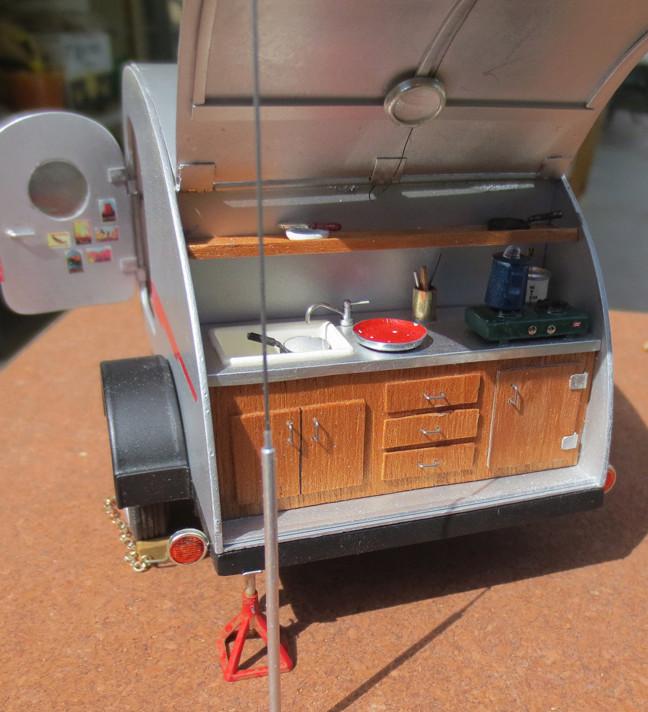 caravane vintage terminée Galley11