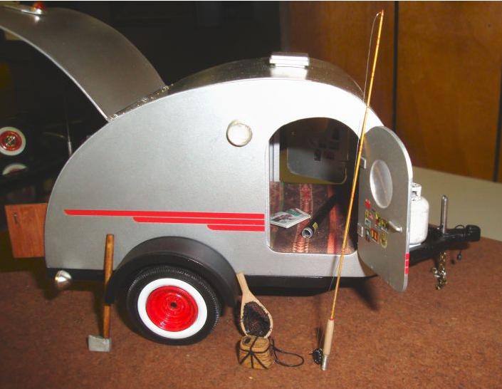 caravane vintage terminée Teardr10