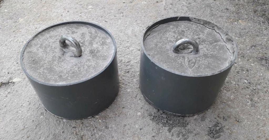 Fabrication de bouées de régates. Receiv10