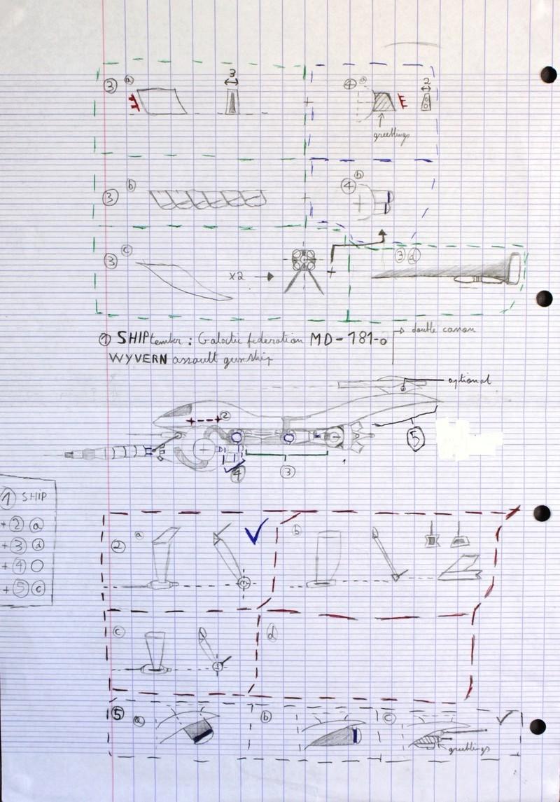 "shiptember - [MOC] SHIPtember: Galactic Mining Federation MD 181-o ""WYVERN"" class gunship. Img_2010"