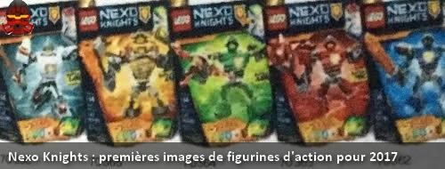 [Produit] Premier aperçu des figurines articulées Nexo Knights Nk201711