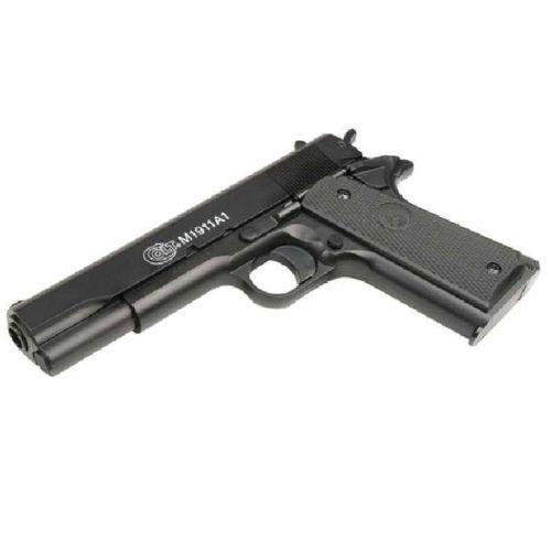 Pistolet Colt M1911 A1 Spring culasse Metal Série BAX 100ème Anniversaire 0.6 joule Colt-110
