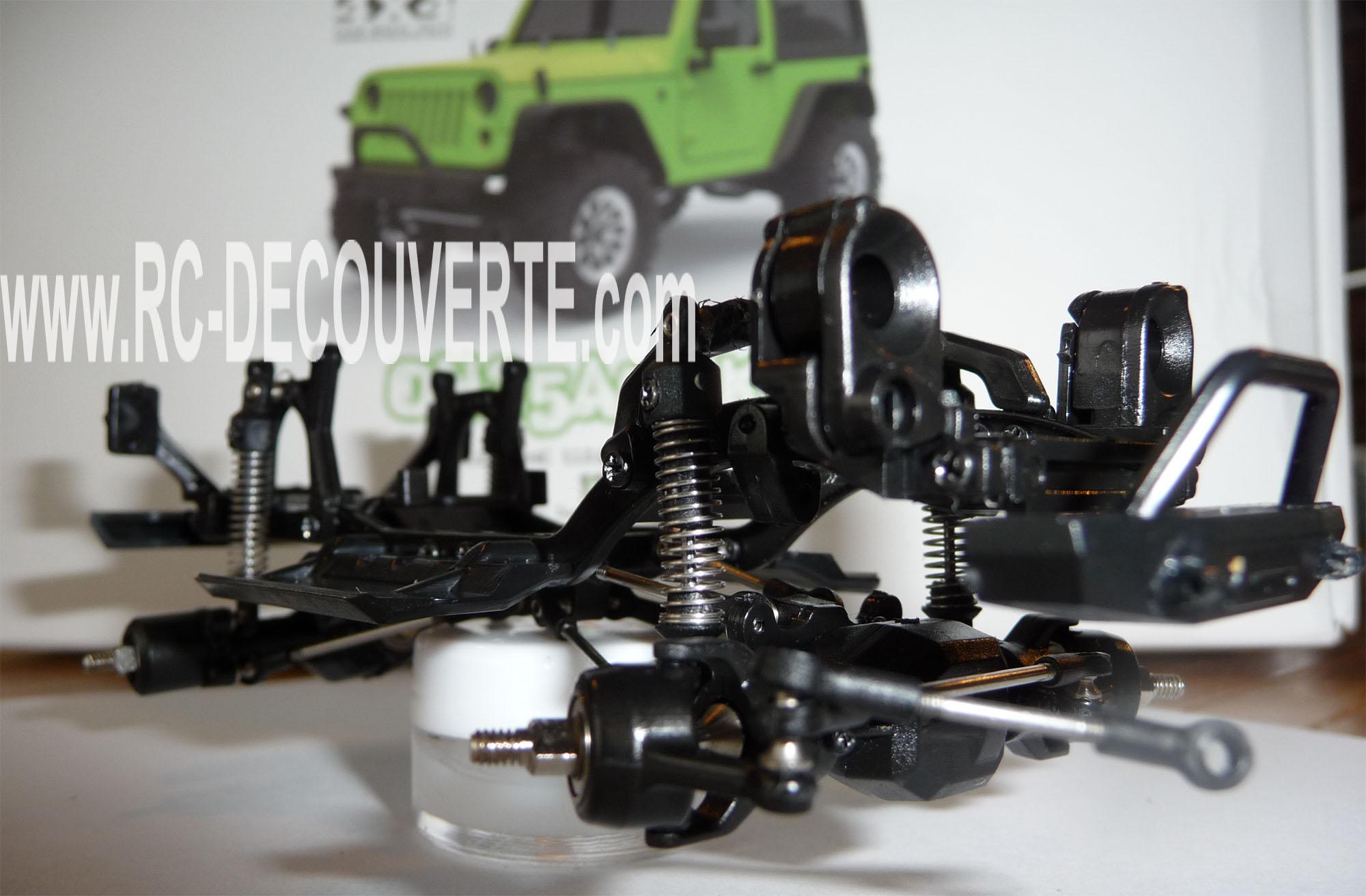 Orlandoo OH35A01 Kit Jeep 1/35 mini crawler présentation découverte montage et essai Orland18