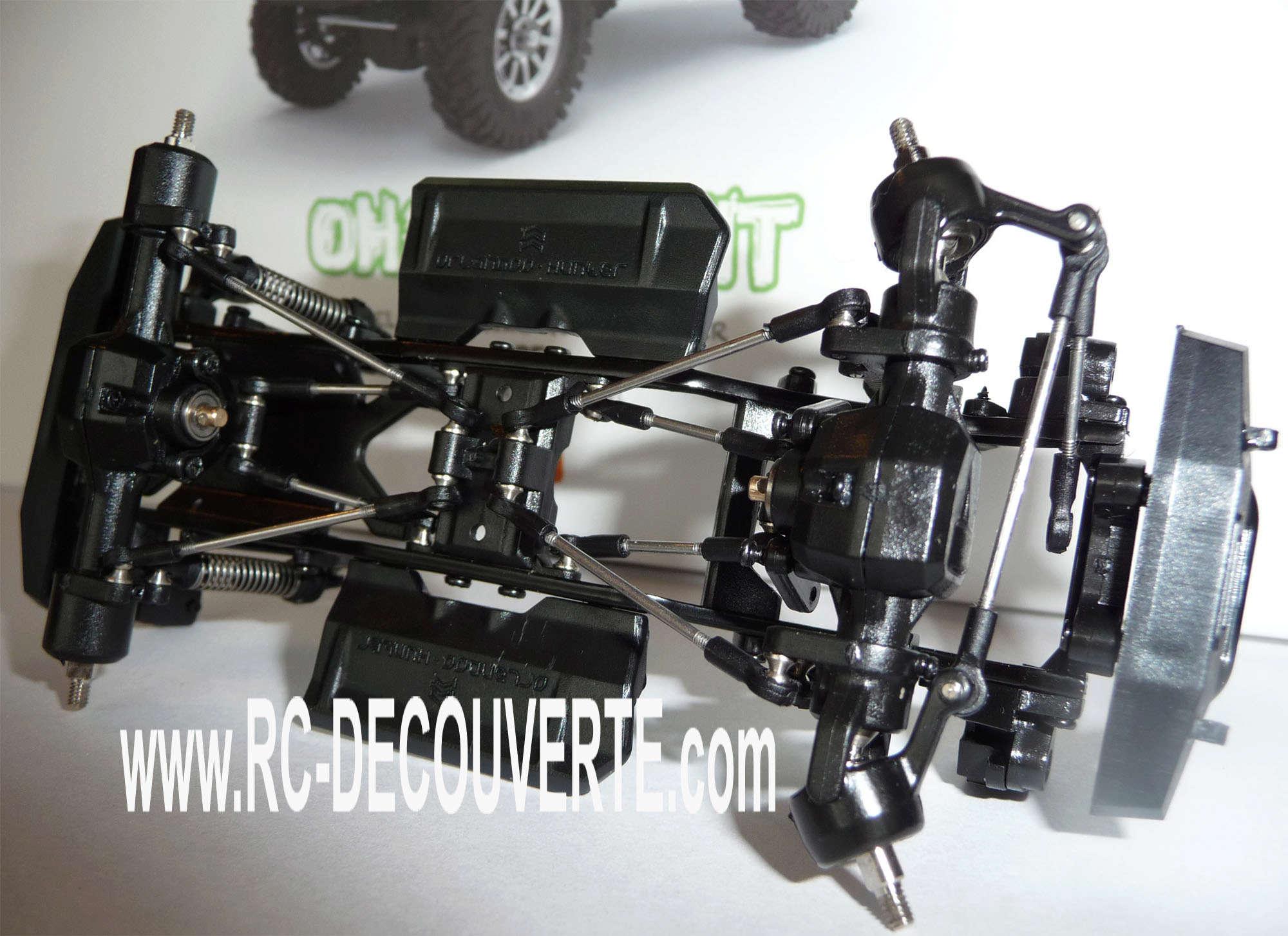 Orlandoo OH35A01 Kit Jeep 1/35 mini crawler présentation découverte montage et essai Orland19