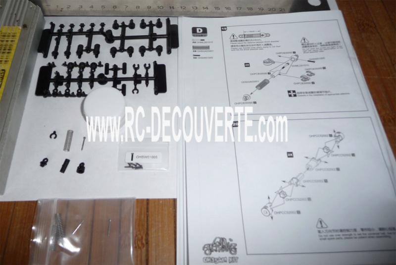 Orlandoo OH35A01 Kit Jeep 1/35 mini crawler présentation découverte montage et essai Orland21