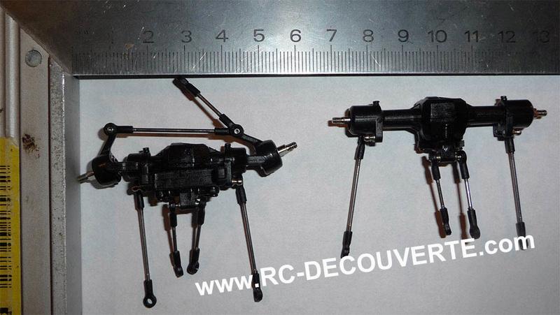 Orlandoo OH35A01 Kit Jeep 1/35 mini crawler présentation découverte montage et essai Ponts-11