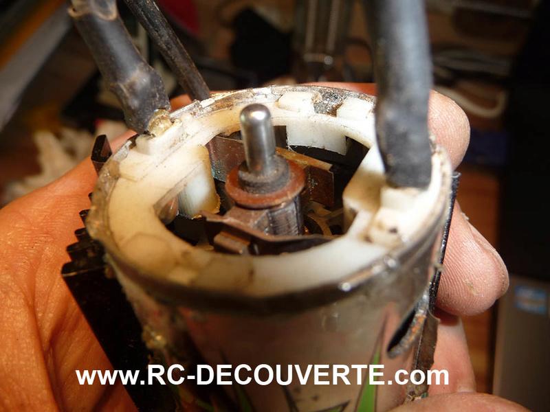 Comment récupérer, réparer et démonter un moteur type 540 Charbon ou Brushed Axial donné pour mort Recupe11