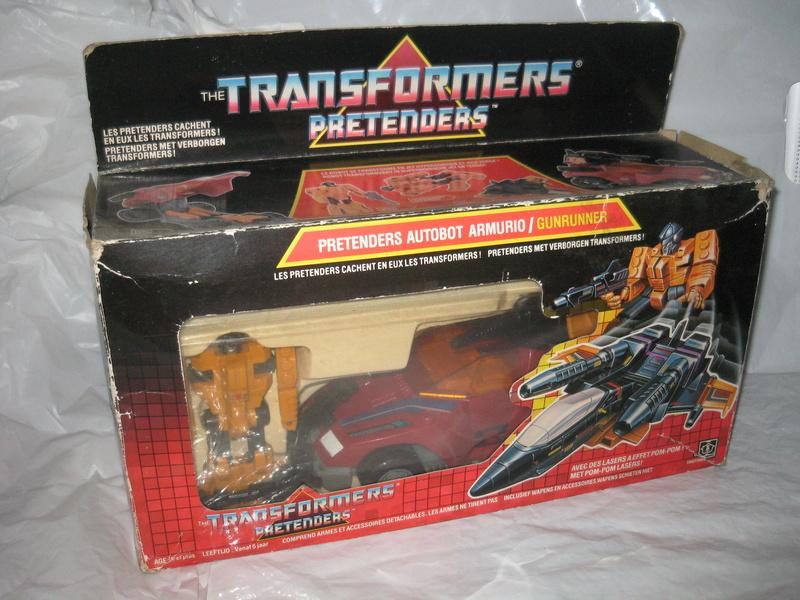 TRANSFORMERS G1 (Génération 1) : toute la gamme Preten11