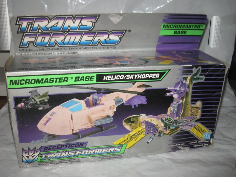 TRANSFORMERS G1 (Génération 1) : toute la gamme Skyhop10