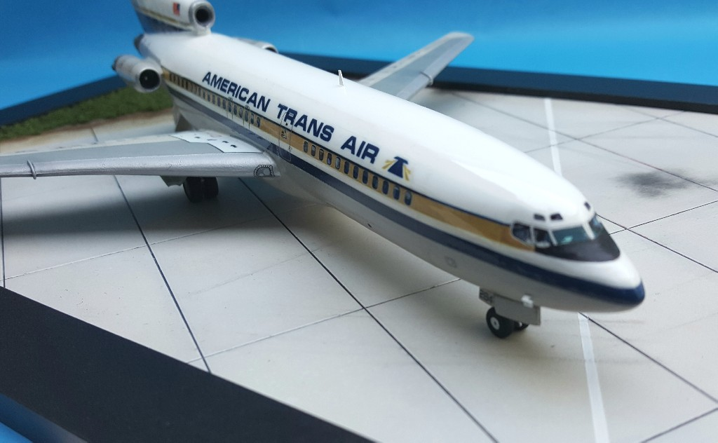 Un petit duo de liners : A320 Revell  et B727-100 Airfix 20181016