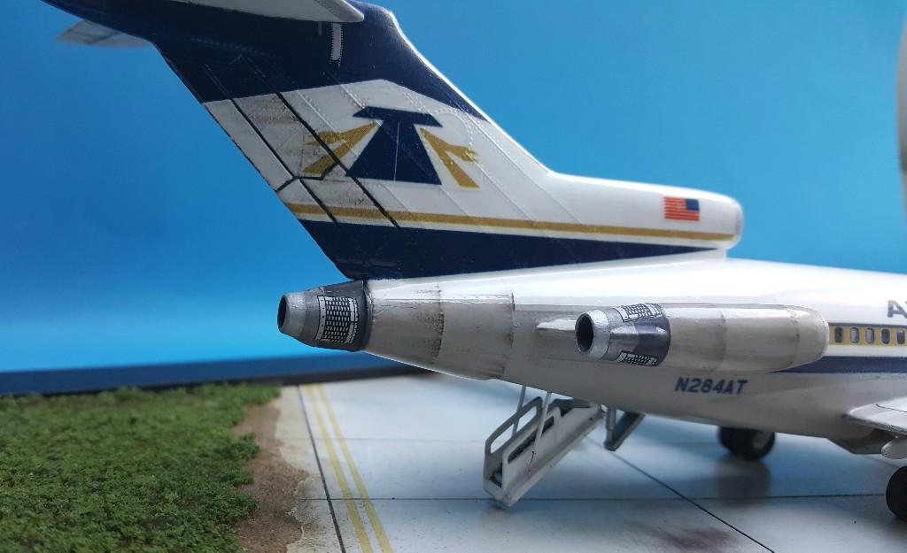 Un petit duo de liners : A320 Revell  et B727-100 Airfix 20181017