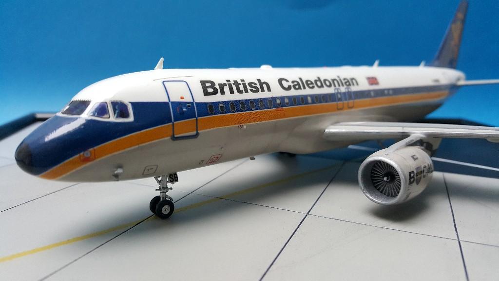 Un petit duo de liners : A320 Revell  et B727-100 Airfix 20181115