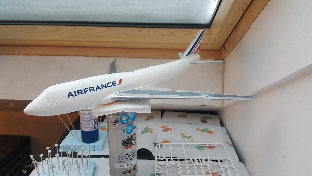 Boeing 747-400 Air France Revell 1/144 20190114