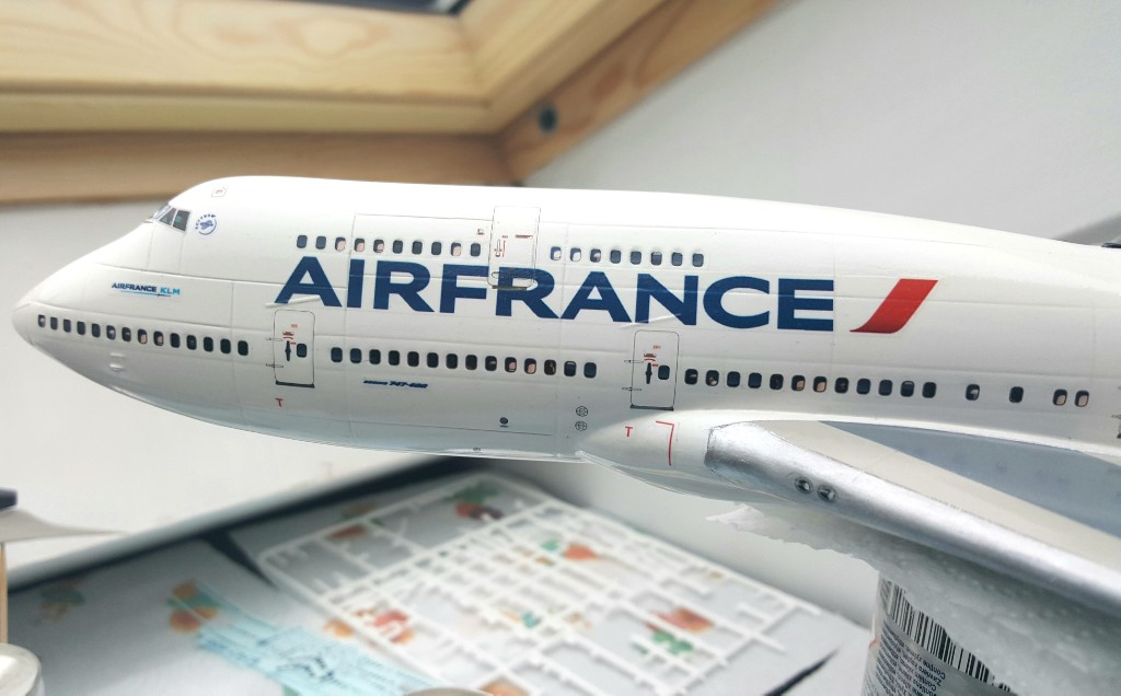 Boeing 747-400 Air France Revell 1/144 20190211