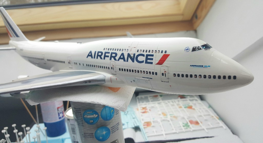 Boeing 747-400 Air France Revell 1/144 20190214