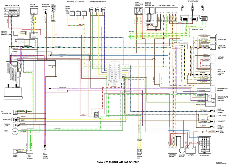 Bmw K1 Wiring Diagram