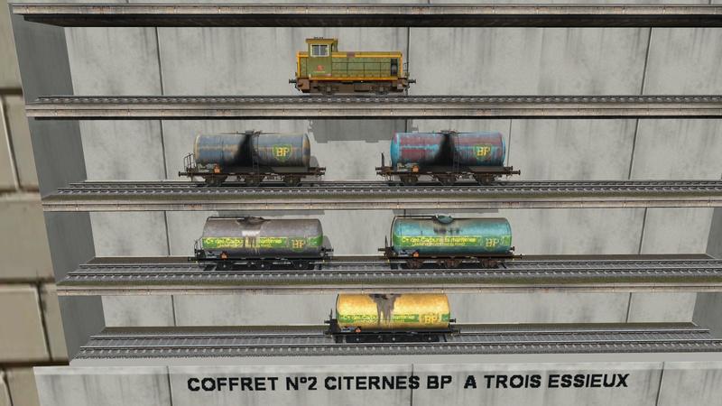 Série de coffrets pour TrainZ Giraud64