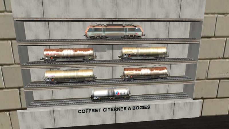 Série de coffrets pour TrainZ Giraud65