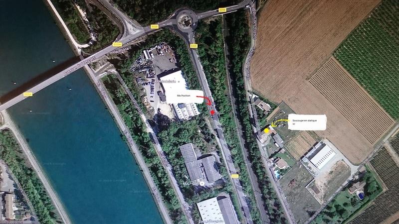 1988 ou 1989: le /07 à 17H environ - Une soucoupe volante -  Ovnis à entre La Roche de Glun et pont de l'Isere - Drôme (dép.26) Dsc_0910