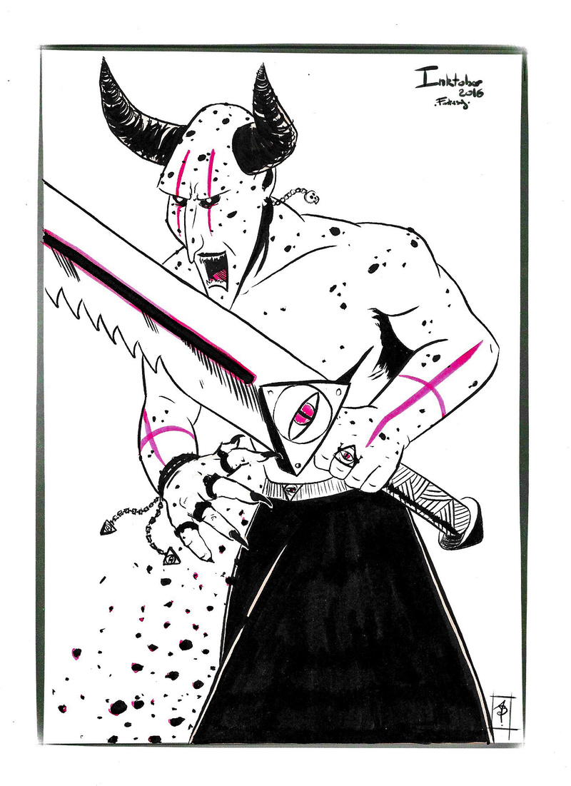 [defis] Inktober 2016 - Page 4 Day710