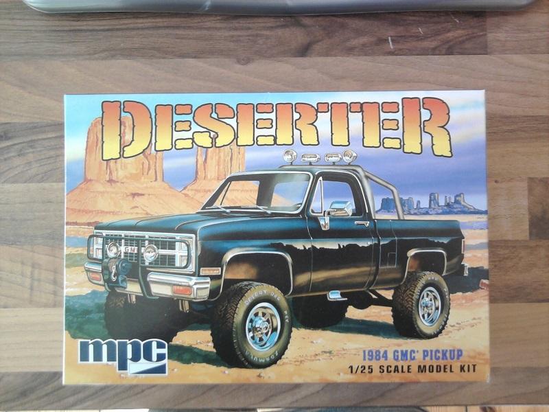 MPC Deserter 1984 GMC Pickup 1:25 01_11