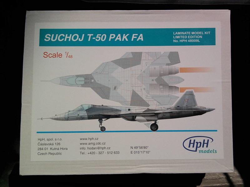 Sukhoy T-50 PAK FA / HPH Models, 1:48 01_13