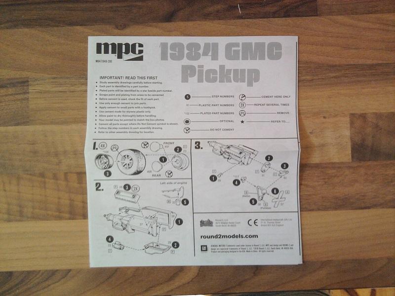 MPC Deserter 1984 GMC Pickup 1:25 03_10