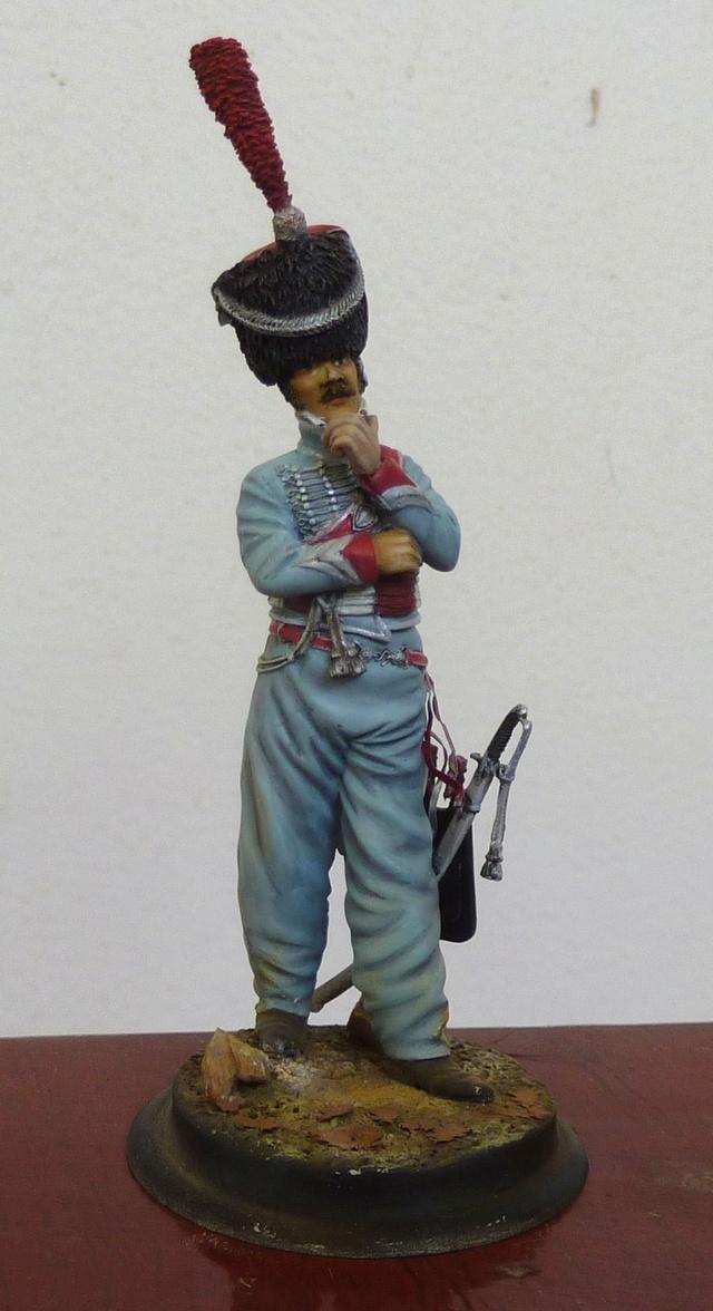 Lieutenant 3RH en Espagne Hussar10