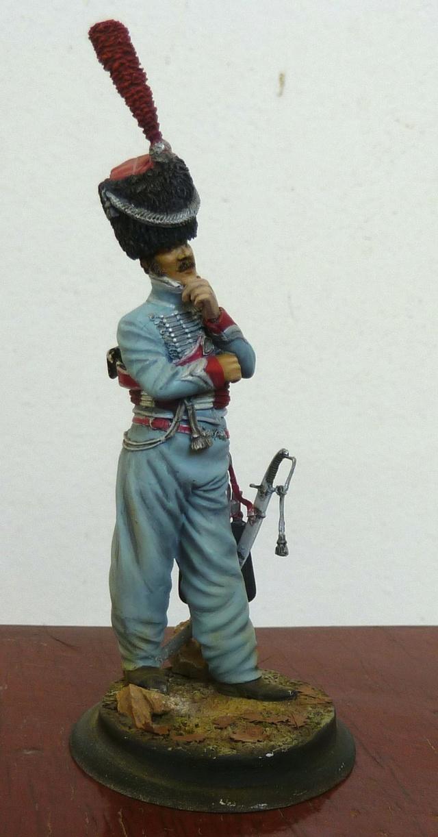 Lieutenant 3RH en Espagne Hussar11